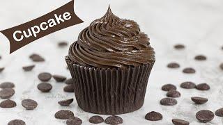 Cupcake de Chocolate | E como aplicar recheio no cupcake | Receita Sandra Dias