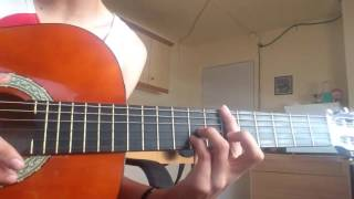 Como tocar (Dime quien ama de verdad) Beret Guitarra