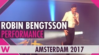"Robin Bengtsson ""I Can't Go On"" (Sweden 2017) LIVE @ Eurovision in Concert 2017"