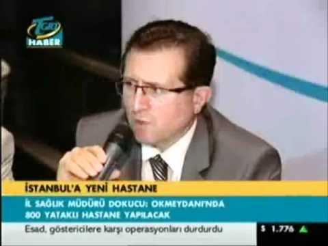 TGRT HABER- DR. ALİ İHSAN DOKUCU İSTANBULDA SAĞLIK YATIRIMLARI .wmv