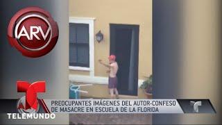 Revelan imágenes preocupantes de Nikolas Cruz | Al Rojo Vivo | Telemundo