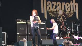 "Nazareth 2017 - ""Love Hurts"""