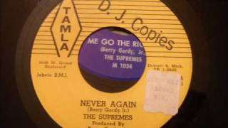 Very Rare Doo Wop - Never Again - The Supremes (early)