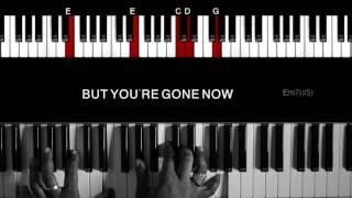 Kehlani - You Should Be Here - Piano Instrumental - Walkthrough - Lyrics - Learn and Play!!!