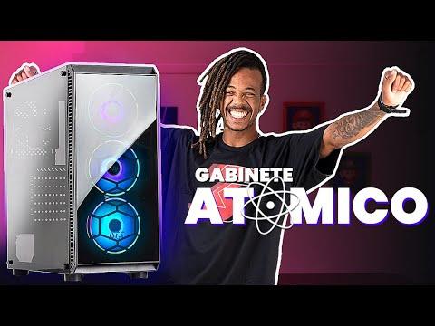 Review ATOMO   Gabinete Gamer Linha Hardware DT3sports
