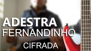 Video Aula Adestra Fernandinho (contrabaixo)
