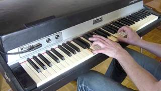just the way you are, billy joel, cover on fender rhodes piano
