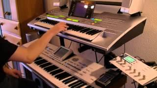 piano Lambada   Kaoma Cover PA2x Tyros   YouTube trop bien !!!!!