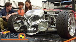 Super Sizes | Hot Wheels Labs | Hot Wheels
