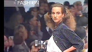 GENNY Spring Summer 1989 Milan - Canale Moda by Fashion Channel