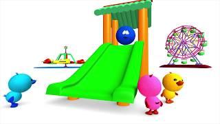 Arriba abajo para niños de preescolar - Nociones espaciales - Canción infantil / La Pelota Loca