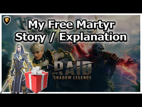 RAID Shadow Legends | My Free Martyr Story / Explanation