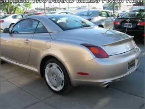 2003 Lexus Sc 430 Problems Online Manuals And Repair