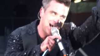 ROBBIE WILLIAMS - Monsoon (snippet) - Dublin 14/06/2013