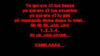 Camila_Yo Quiero Lyrics