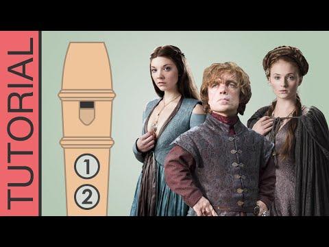 Comment jouer le générique de Games of Thrones à la flûte