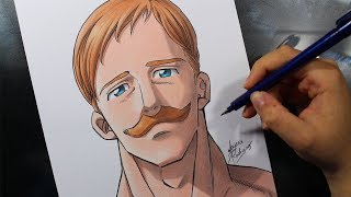 Speed Drawing - Escanor [NANATSU NO TAIZAI]
