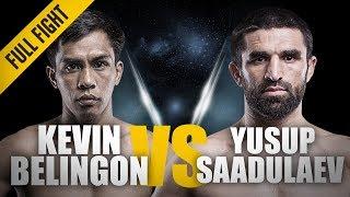 ONE: Full Fight | Kevin Belingon vs. Yusup Saadulaev | A Spectacular Knockout | October 2012 width=