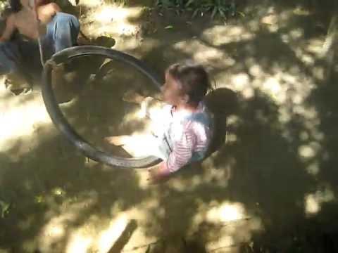 Nicaragua Tire Swing