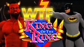 WWE 13: Satan vs Batman WTF King of the Ring 3rd Rd width=
