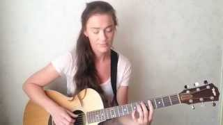Sting - Shape of my heart - acoustic instrumental guitar cover by female guitarist Antra Lante.
