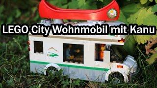 LEGO City Wohnmobil mit Kanu im REVIEW (Camper Van – Set 60057)