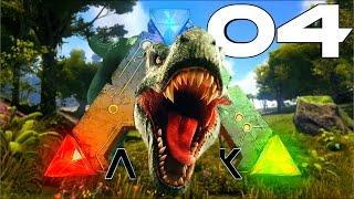 Ark Survival Evolved Ps4 #04 Dino Zähmen