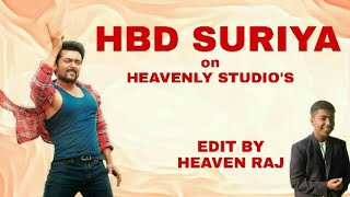 HBD SURIYA video on HEAVENLY STUDIO'S | A SURYA EDIT HOUSE |