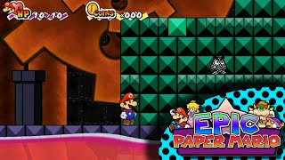 Epic Paper Mario - SideQuest: Tower of Infinite Trials Gameplay Clips
