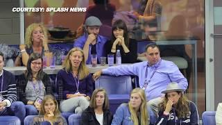 Justin Timberlake & Jessica Biel Kiss and Flirt at US Open 2017