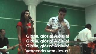 Hino 525 = Vencendo Vem Jesus = Gabriell Júnior e Gabriella