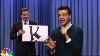 """The Tonight Show"" Internship Rap (""Alphabet Aerobics"" Parody)"