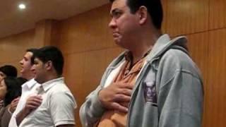 video centenario hino nacional crisma japao 2008