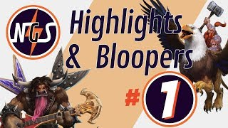 NGS Highlights and Bloopers #1 - Heroes of the Storm Best and Funniest Plays - Nexus Gaming Series