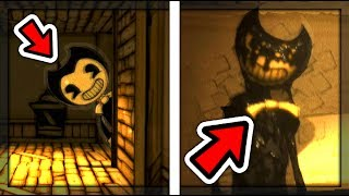 ALL JUMPSCARES FROM CHAPTER 1 | Bendy and the Ink Machine