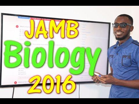 JAMB CBT Biology 2016 Past Questions 1 - 20