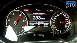 2013 Audi A6 3.0 TDI (204hp) multitronic - 0-230 km/h (1080p FULL HD)