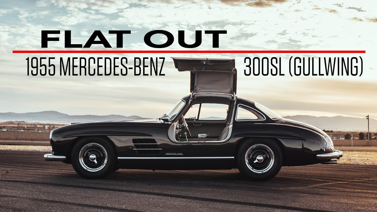 Flat Out in a 1955 Mercedes-Benz 300 SL Gullwing thumbnail