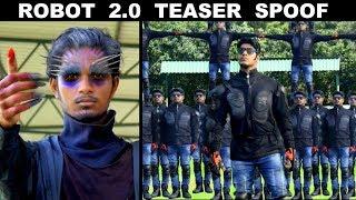 ROBOT 2.0 Teaser Spoof | Rajinikanth | Akshay Kumar | OYE TV