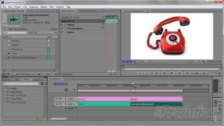 A Quick Telephone Audio Effect in Adobe Premiere Pro CS6 using Adobe Audition.