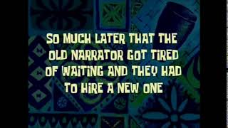 Narrator spongebob