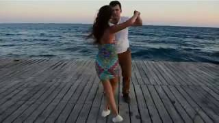 Zouk impro by Eugenia & Nicos. Music Crystallize Kizomba Version Lindsey Stirling