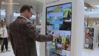 British Airways Touchscreen campaign @ Westfield London