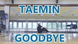TAEMIN (태민) - GOODBYE [さよならひとり] Dance Cover