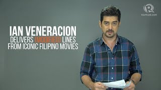 WATCH: Ian Veneracion delivers lines from 'One More Chance,' 'Heneral Luna'