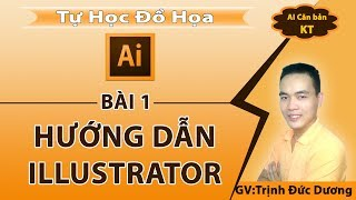 Hướng dẫn sử dụng illustrator cho người mới bắt đầu | bài