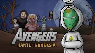 Avengers Hantu Indonesia - Avengers Infinity War Parody  - Kartun Hantu lucu - Rizky Riplay