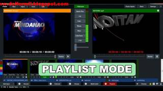 How to Playlist in vMix
