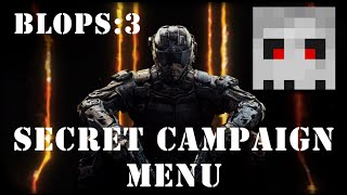 Black Ops 3 Secret Menu!