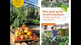 """Vidéo de présentation de mon livre """"mon petit jardin en permaculture"""""""